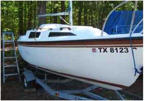 Montego 19, 1981 sailboat