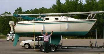 Montego 25 sailboat for sale, used sailboats