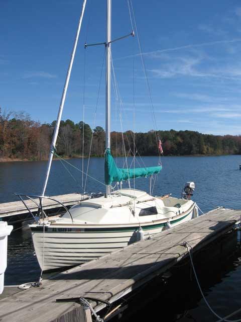 Montgomery 17, 2005 sailboat