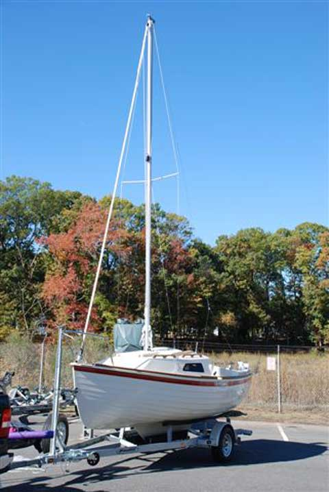 Montgomery M17, 2008 sailboat