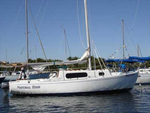 Morgan 24 sailboat