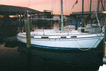 1974 Morgan Out Island 28 sailboat