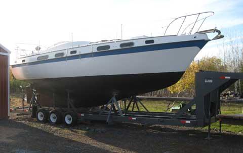 Morgan OutIsland 33 sailboat