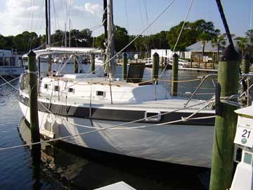 1976 Morgan Out Island 37 sailboat