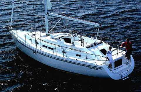 Morgan 381 sailboat