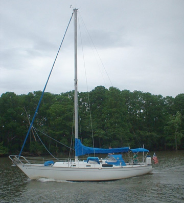 Morgan 38 Yacht For Sale Used Sailboats