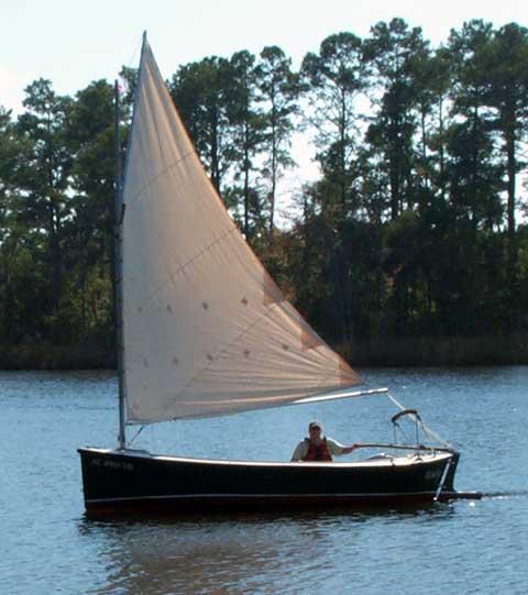 Florida Bay Mud Hen sailboat