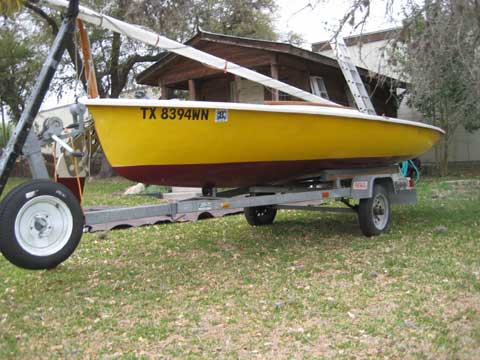 Mutineer sailboat