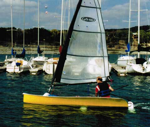 MX-Ray sailboat