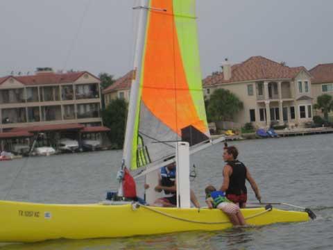 Nacra 17 Inter model 17R catamaran 2005 sailboat