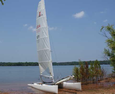 Nacra F17, 2002 sailboat