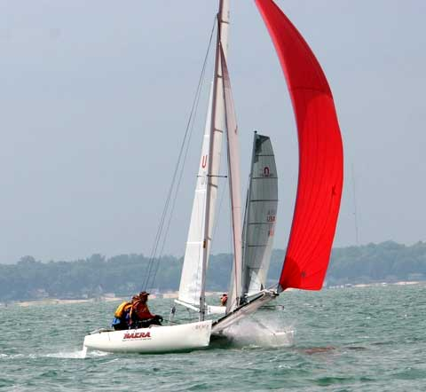 Nacra 20 sailboat