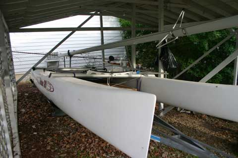 Nacra Inter 20 sailboat