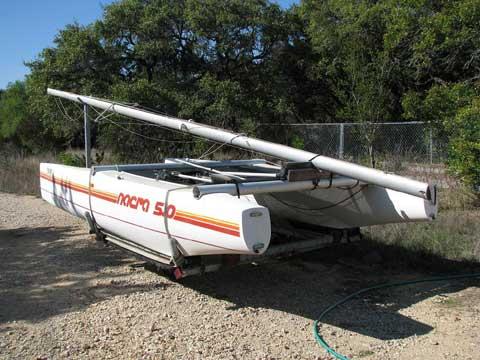Nacra 5.0 sailboat