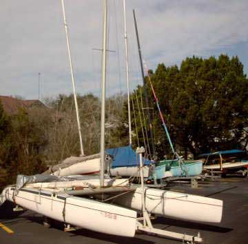1977 Nacra 5.2 sailboat