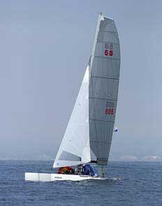1992 Nacra 5.8 NA sailboat