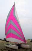 1987 Nacra 5.8 sailboat
