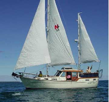 1984 Nauticat 33 sailboat