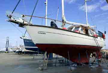 1995 Nauticat 38
