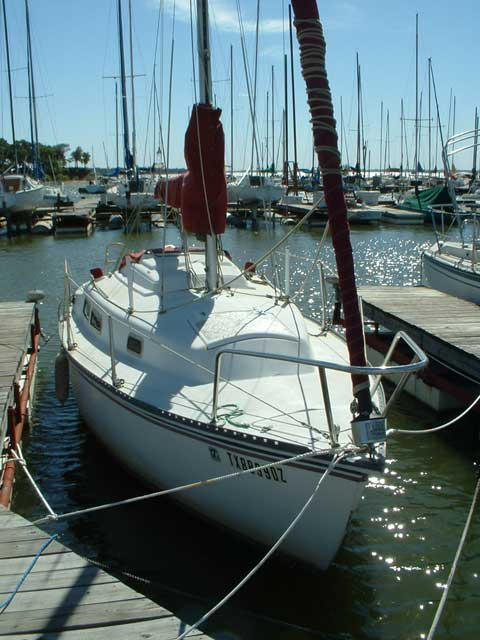 Wooden Sailboats For Sale >> Neptune 24 sailboat for sale