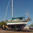 1965 New England Pinky Cutter 43 sailboat