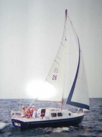 New Horizon 26 sailboat