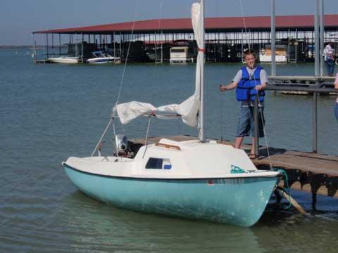 Newport 16 sailboat