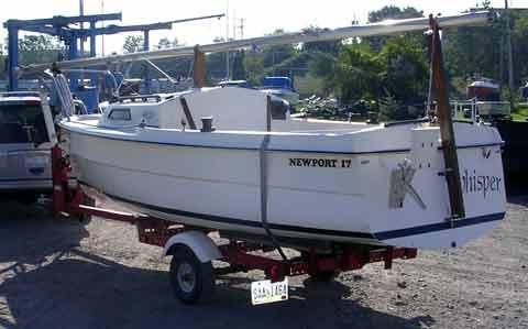 1979 Newport 17