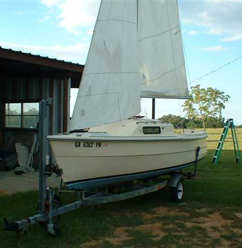 Newport 17 Sailboat For Sale