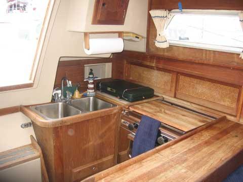 Newport 33 sailboat