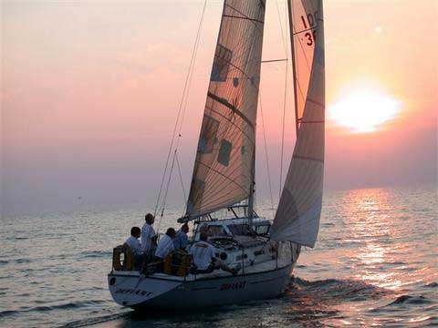 New York 36 sailboat
