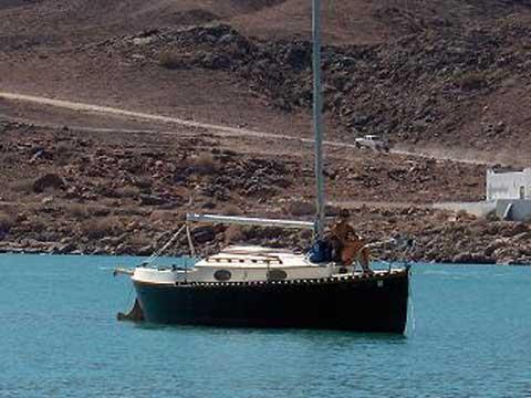 Nimble 20 sailboat