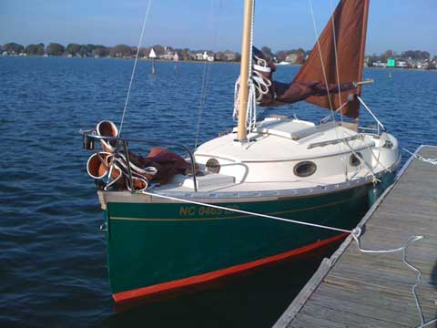 Nimble 20 sailboat