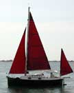 1987 Nimble 20 sailboat