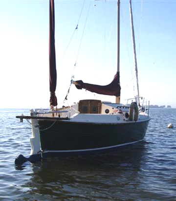1990 Nimble 24 sailboat