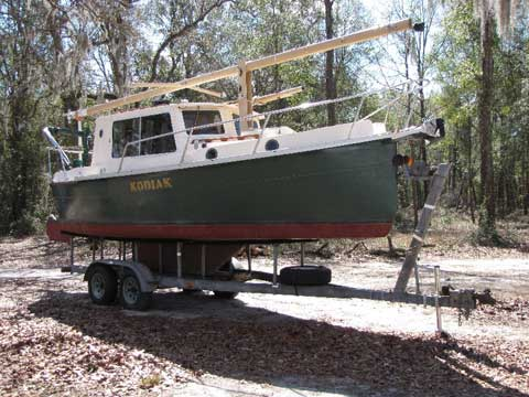 Nimble Kodiak 26 sailboat