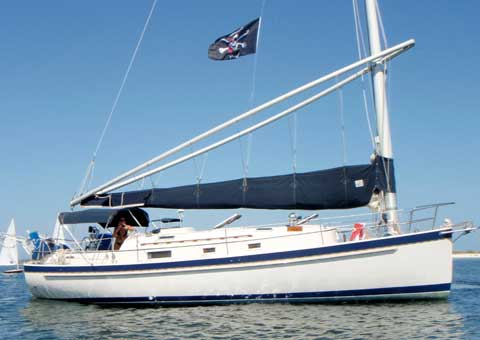 Nonsuch 33 sailboat