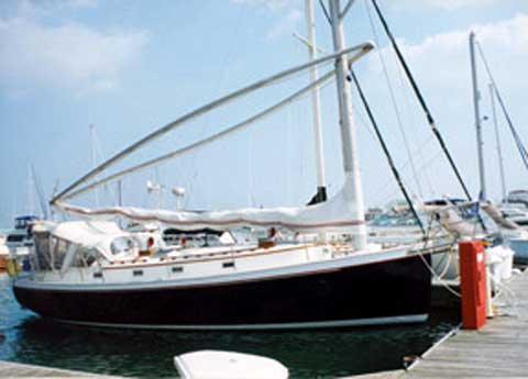 Nonsuch 36 sailboat