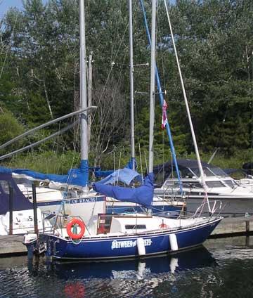 1978 Northern Quarter-Ton 24 sailboat
