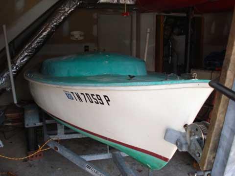 Oday Daysailer 17 sailboat