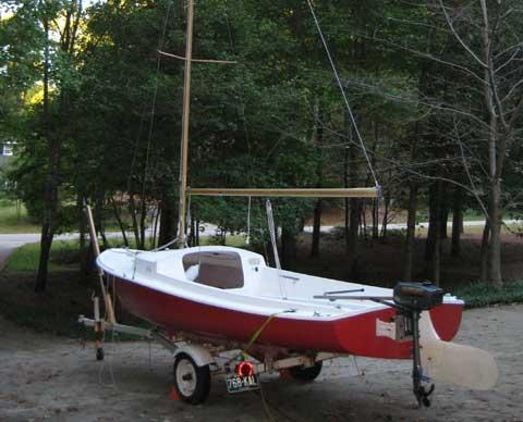 Oday Daysailer II sailboat