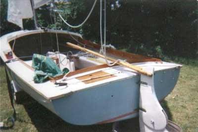 O'Day, DaySailer, 17' sailboat