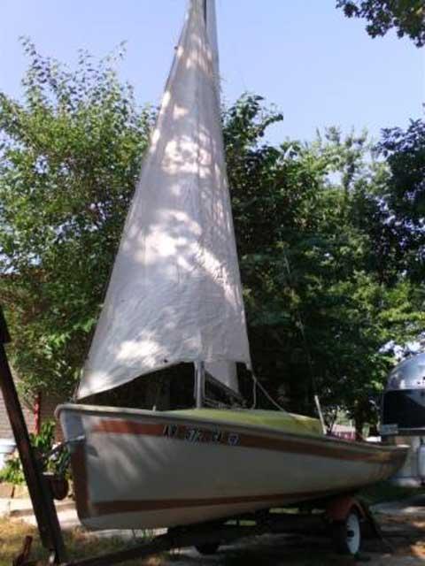 O'Day, 17ft., Daysailer I, 1963 sailboat