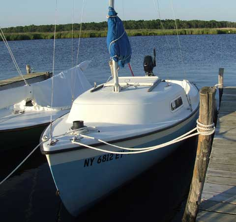 Oday 2+2 sailboat