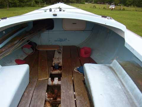 O�Day Rhodes 19� sailboat