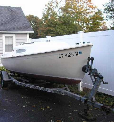 O'Day Mariner 2+2, 19' sailboat
