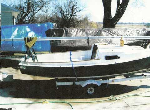 O'Day 19, Mariner 2+2, 1969, sailboat