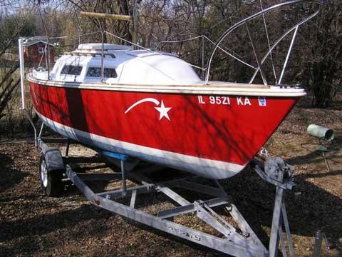 O'Day 22, 1974 sailboat
