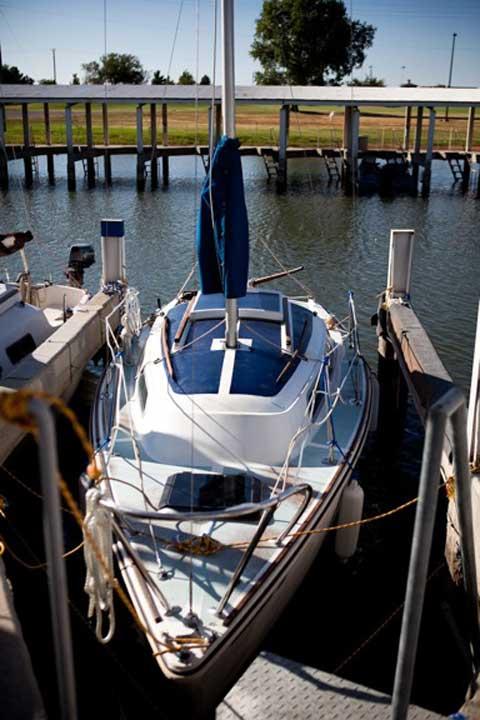 Oday 22, 1973 sailboat