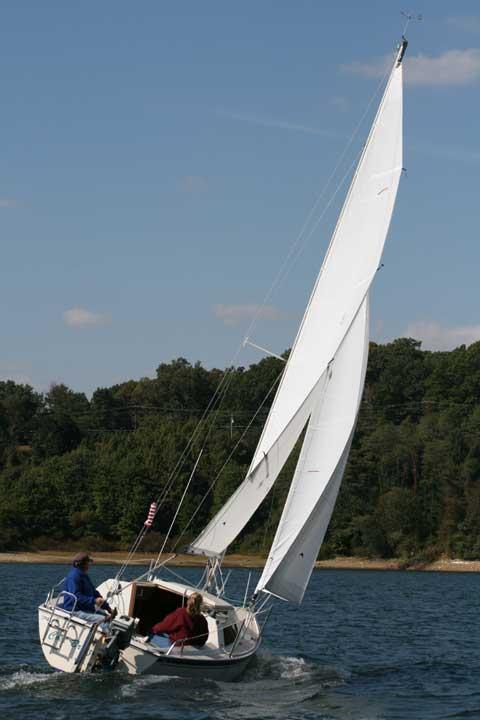 Oday 222 sailboat